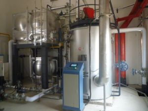 Gas/Diesel/Dual Fuel Vertical Compact Steam Boiler pictures & photos