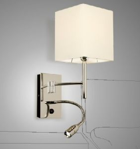Modern LED Wall Lamp with Cloth Shade