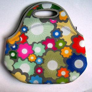 China Factory Custom Picnic Handbag Neoprene Lunch Bag