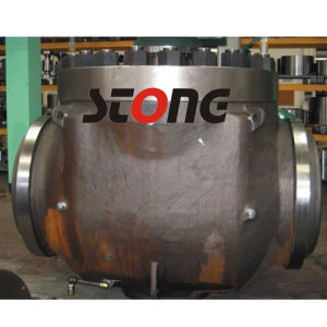 Trunnion Mounted Top Entry Ball Valve of 600lb pictures & photos