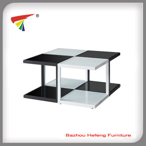 High Quality Three-Tier Glass Round Side Table (CT080) pictures & photos