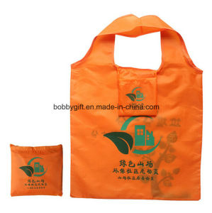 Wholesale Eco-Friendly Foldable Polyester Hand Shopping Bag pictures & photos
