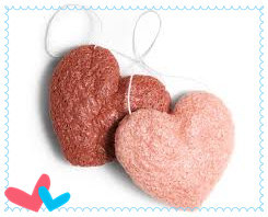 100% Natural Heart Konjac Sponge for Cleaning pictures & photos