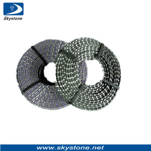 Hot Sell Diamond Wire Cutting Rope for Granite Quarry pictures & photos