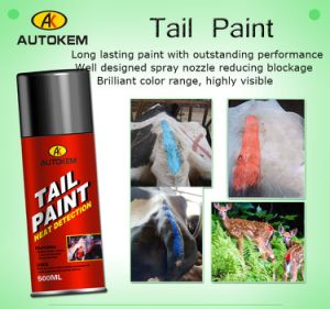 Alert Tail Paint, Tail Paint, Animal Marking Paint, Livestock Marking Paint, Aerosol Tail Paint pictures & photos