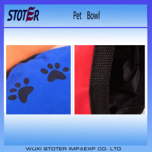 Dogs Trust Collapsible Waterproof Dog Bowl pictures & photos