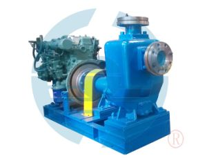 Self-Primming Centrifugal Pump Driven by Diesel Engine pictures & photos