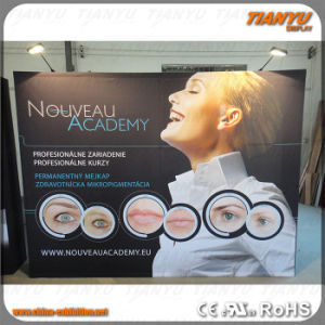 Promotion Aluminum Portable Trade Show Fabric Pop up Display pictures & photos