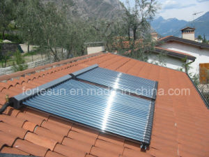 Pressurized Closed Loop Heatpipe Solar Collector pictures & photos
