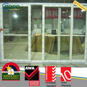 High Quality PVC Sliding Doors with Double Glass pictures & photos