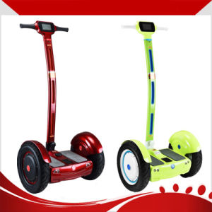 Popular 2 Wheel Self Balancing Electri Standing Scooter with Handlebar pictures & photos