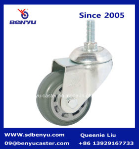 MID Duty Grey Stem Screw Trolley Castor Wheel pictures & photos