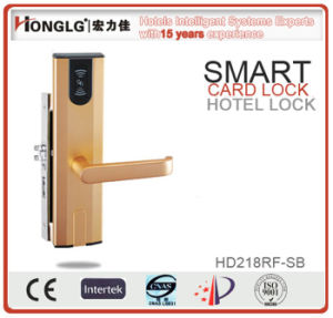 Honglg Security Card Door Lock for Hotel with Free Software pictures & photos