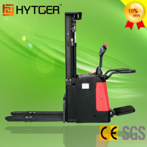 Hot Sales 1.6 Ton Full Standing up Electric Stacker (ES16-16RA) pictures & photos