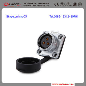 Circular Cable Power Waterproof Connector M20 with 3 Pin pictures & photos