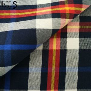 100% Cotton Poplin Woven Yarn Dyed Fabric for Shirts/Dress Rls50-19po pictures & photos