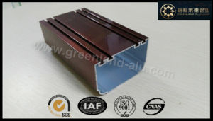 Aluminium Profile for Door Fame Electrophoretic Coating Bronze Color pictures & photos