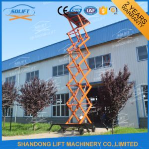 Mobile Aerial Scaffold Work Platform with Wheels pictures & photos
