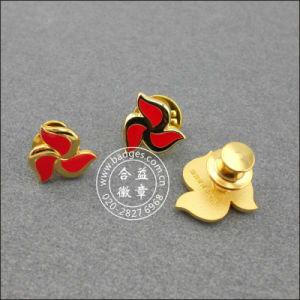 Coin Soft Enamel Lapel Pin Stamp Logo Badge (GZHY-SE-001) pictures & photos