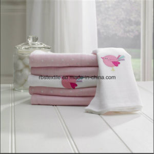 High Quality 100% Cotton Soft Baby Printing Swaddle Blanket pictures & photos