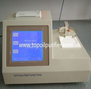 Automatic Karl Fischer Titrator Oil Water Content Analyzer (TP-2100) pictures & photos