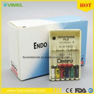 Dentsply Endo Root Canal Hedstroem File 21mm 045-80 Sst pictures & photos