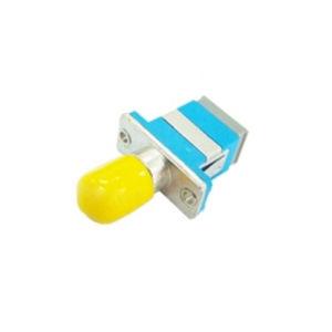Sc to St Hybrid Simplex Metal/Plastic Fiber Optic Adapter pictures & photos