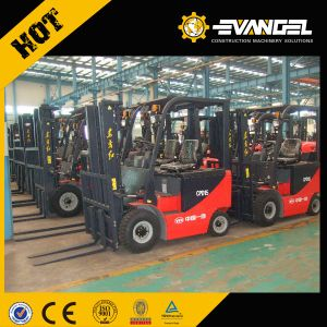 Chinese Made Fork-Lift Yto 1.5 Ton Mini Electric Forklift Truck Cpd15 pictures & photos