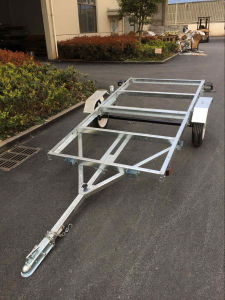 4X8 Galvanized Folding Trailer pictures & photos
