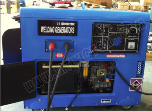 5kw Portable Silent Type Diesel Welding Generator pictures & photos