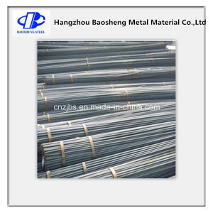 Hot Rolled Reinforced Steel Rebar Carbon Structural Round Bar pictures & photos