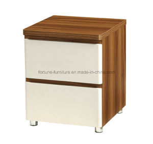 Modern Wooden Walnut & White Nightstand (B1032-A) pictures & photos