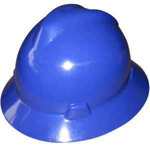 Japanese Type Blue HDPE Safety Helmet for Industrial Mining pictures & photos