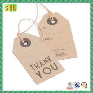 Custom Printed Kraft Paper Hang Tags with Ropes pictures & photos