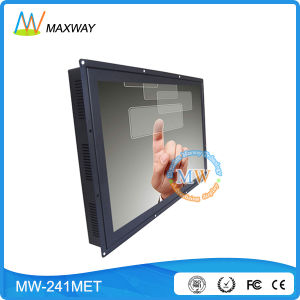 Open Frame 24 Inch Touch Screen LCD Monitor with USB RS232 Port (MW-241MET) pictures & photos