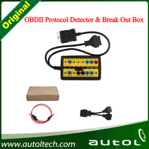 Top Sale Obdii Protocol Detector & Break out Box OBD2 Protocol Detector Break out Box Diagnostic Scanner pictures & photos