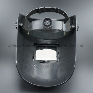 108X83mm Glass Szie Wheel Ratchet Suspension Welding Helmet (WM402) pictures & photos