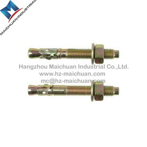 Stainless Steel Ss304/Ss316 with Steel Zinc Plated Hitli Anchor Bolt of Expansion Bolt Wedge Anchor Bolt (M6-M24) pictures & photos