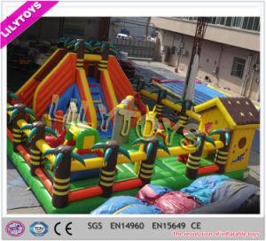 Hottest Happy Hop Inflatable Jungle Park for Garden Park pictures & photos