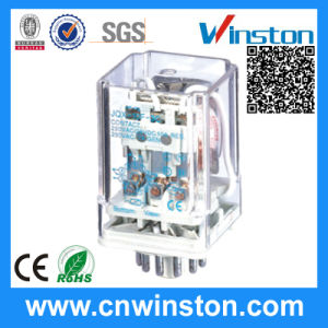 General Purpose Industrial Power Socket Mounted Electromagnetic Relay with CE pictures & photos