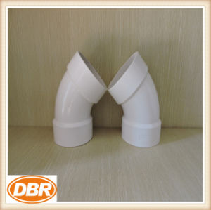3 Inch Size 1/8 Bend Type PVC Fitting pictures & photos