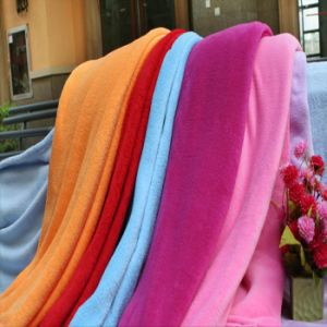 80% Polyester/ 20%Polyamide Microfiber Coral Blanket pictures & photos