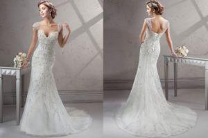 Beaded Embroidery Mermaid Bridal Wedding Dresses, Customized