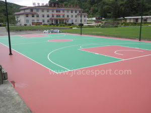 All Weather Resistance Synthetic Rubber Tennis Court pictures & photos