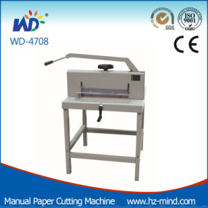 Professional Manufacturer A3 Size (WD-4708) Manual Paper Cutter pictures & photos