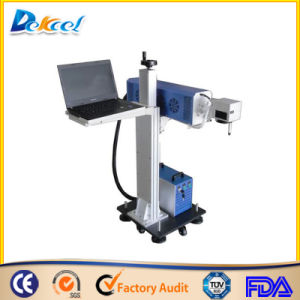 30W CNC Online Flying PP PVC Laser Marking Machine with RF Metal Laser Tube pictures & photos
