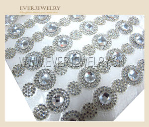 24*40wholesale New Fashion Sparkling Rhinestone Mesh Trimming for Wedding Decoration Wrt- pictures & photos