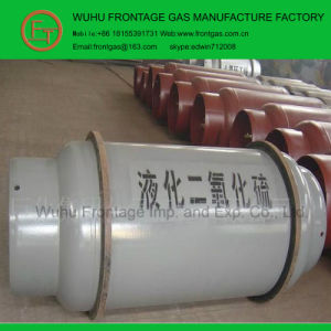 5n Purity Good Quality Steel Cylinder Sulfur Dioxide pictures & photos