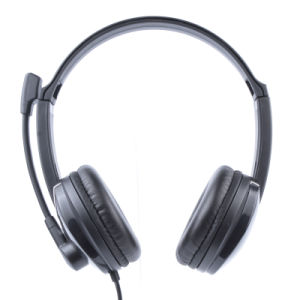 USB Jack Wired Headset for Call Center (RH-U41-013) pictures & photos