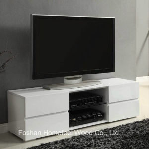 Home Furnishings Contemporary Wooden White TV Cabinet (TVS20) pictures & photos
